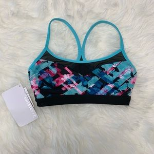 Fabletics Snapdragon Reversible Mesh Sports Bra